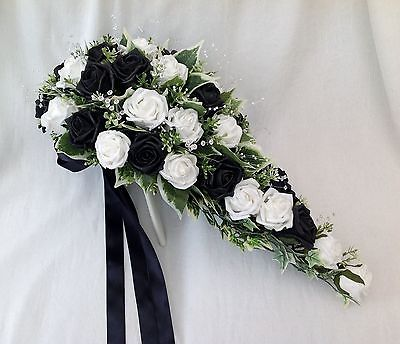 Black and white fake flowers same day flower delivery mightylinksfo