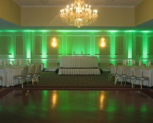 bryllups deco grøn