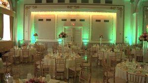 bryllups dekoration grøn