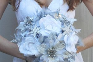 bryllups pynt winter
